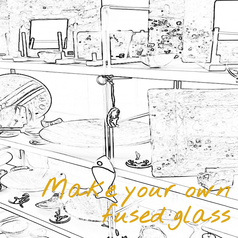 make your own fused glass